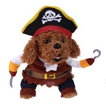 Halloween Pet Dog Clothes Suit Pirate Turned Put Cat Suit Small Medium Dog products for cats Pet Dress Toy Cosplay Perform Toys