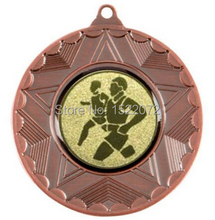 low price custom Running Medal cheap Bronze Marathon Medal on ribbon Sports Day School Trophy Meda hot sales gold sport medal