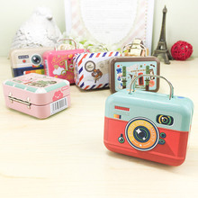 10pcs/lot Wholesale Particular Sealed Storage Tin Case Movie Tickers Box Convenient Small Handbag