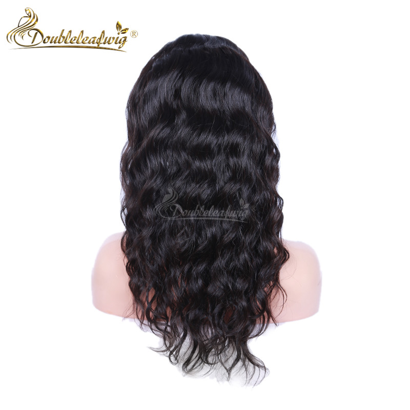 Lace Front 130% Density Brazilian Virgin Human Hair Wigs Deep Wave Full Lace Middle Part Wigs Front Lace Wigs For Black Women<br><br>Aliexpress