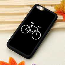 bikes bicycle Printed Soft TPU Cell Phone Cases Bags For iPhone 6 6S Plus 7 7 Plus 5 5S 5C SE 4S Back Cover Shell