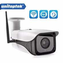Unitoptek Starlight HD 1080P WIFI IP Camera Wireless Security Outdoor Bullet SONY 291 Low 0.0001 Lux Day/Night Color Cameras(China)