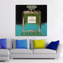 HDARTISAN Modern Pop Art Oil Painting Perfume Canvas Art Wall Pictures For Living Room Andy Warhol Home Decor Printings