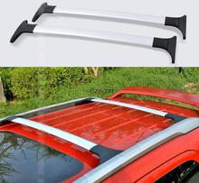 2PCS/SET High Quality SUV Car Cross Bar Roof Rack Luggage Rack Roof Racks Accessories For 2013-2016 Ford Ecosport Z2AAE007(China)