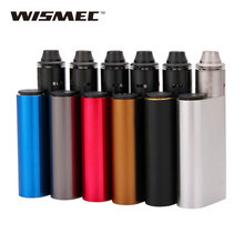 WISMEC E cigarette Noisy Cricket 18650 Mechanical Box MOD and Indestructible RDA Rebuildable Atomizer Kit Vaporizer No Battery