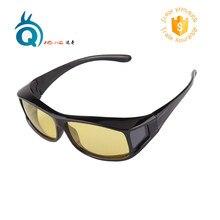 6a7917da32330 Caber sobre óculos de condução pesca óculos Polarizados lente para ambos os  homens e mulheres de