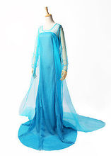 Blue Bling Snow Queen Adult Women Lady Party Dress Costume Sexy Dresses