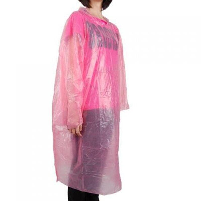 Waterproof Bicycle Emergency Disposable Raincoat Women Man Rain Coat Poncho Capa De Chuva De Motoqueiro (Random Color )