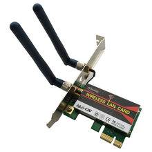 6200AGN 802.11a/b/g/n 300M Pci-e 1X~16X 2.4/5G PC Desktop WIFI WLAN Card Network Adapter Intel Centrino Advanced-N 6200