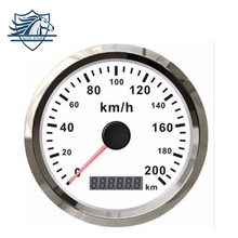 Best Quality Car Truck Motor Auto GPS Speedometer 200 km/h Stainless steel IP67 waterproof Digital Gauges free shipping