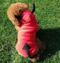 lovely dog halloween costume pet dog clothes little demon imp small pet dog cat coat puppy jacket dog costume cat clothes