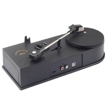 USB Mini Phonograph Turntable Vinyl Turntables Audio Player Support Turntable Convert LP Record to CD or MP3 Function