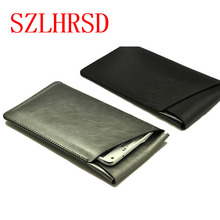 SZLHRSD for Oukitel K8000 super slim sleeve pouch cover, microfiber stitch case For BlackBerry Motion for HomTom S8(China)