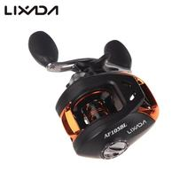 Lixada Fishing Reel 10+1BB Ball Bearings Right/Left Baitcasting Reel 6.3:1 Carp Fishing Coils Gear 203g AF103 carretilha(China)