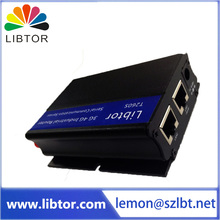 High quality M2M 3G  sim card Industrial grade wireless router with multiple function for transparent data transmission