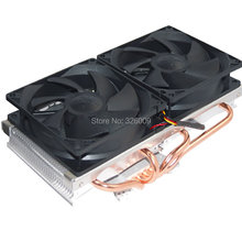 VGA Cooler dual-fan 9cm fan 4 heatpipe GTX980 970 r9 290 Cooling for Graphics Card VGA Cooler fan 90mm CoolerBoss GFH-409-02