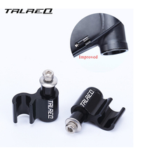 TRLREQ 1 pcs Aluminum Bike Oil Tube Fixed Conversion Seat Frame Over line Device Wire Trap Adapter Seat Clip Bicycle Accessories