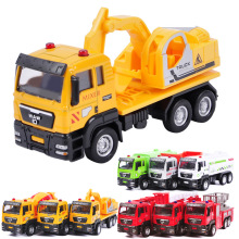 2017 Sell Like Hot Cakes 13CM*6.5CM*5CM 1:55 Slide Alloy Car Model Shop Truck Fire Fighting Truck Children's Toys Holiday Gifts(China)