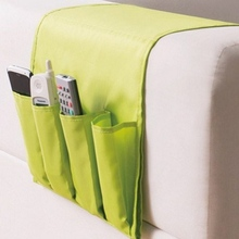 Creative Household Foldable Sofa Side TV Remote Control Organizer Bed Sofa Hanging Storage Bag Sundries Storage Holder Pouch