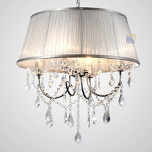 Crystal combination Specialty light fashion pastoral light light purple silver gold color can choose plating pendant lights SJ50
