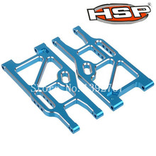 2Pcs HSP Upgrade Parts 860004N(760004) 60006N Rear Lower Suspension Arm For 1/8 Scale Models Monster Truck RC Car Baja 94762(China)