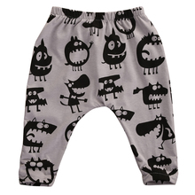 Toddler Infant Newborn  Kids Baby Boy Girl Harem Long Pants Trousers Leggings Bottom Casual Pants 0-3Y