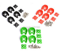 4pcs 250 ZMR250 Motor Cover Protection For 22 Series 2204 2206 2208 Motor RC Multicopter Black Green Red F choice