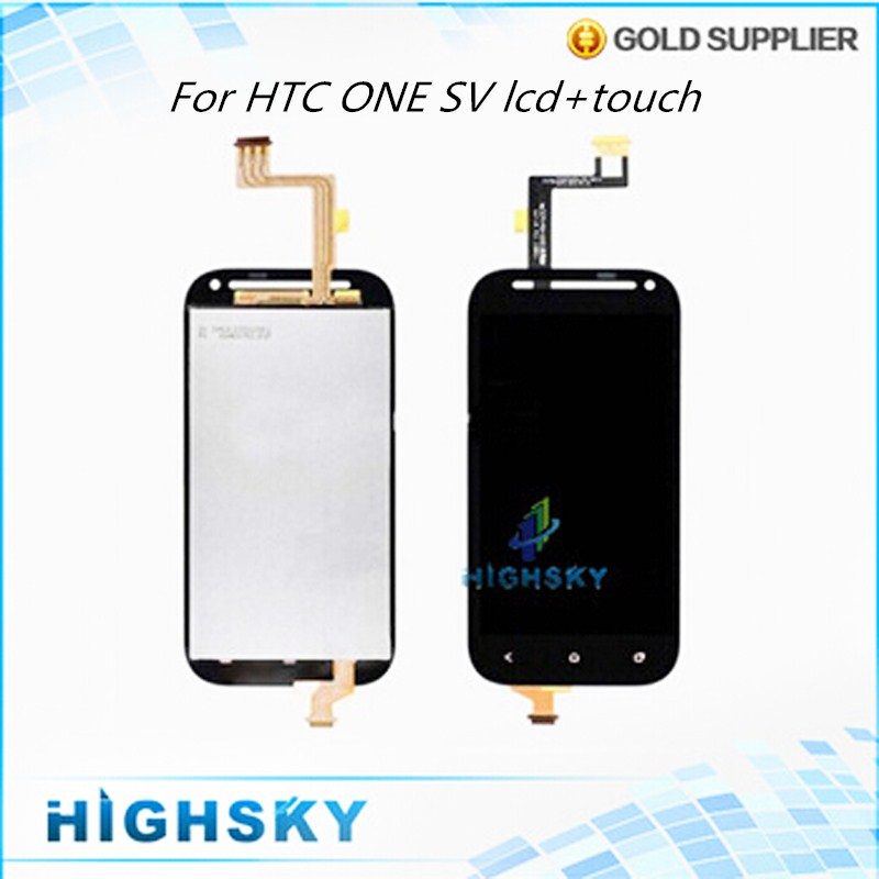 Tested 4.3 inch Black For HTC One SV T528T LCD Display Screen With Touch Digitizer Assembly 10 Pieces Free EMS DHL<br><br>Aliexpress