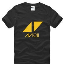 Buy Rock Band Avicii Printed T Shirts Men New Short Sleeve O Neck Cotton Men's T Shirt Tim Bergling DJ Tee Shirt Homme Fans Clothing for $9.99 in AliExpress store