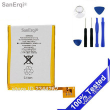 SanErqi New 3.7V Internal Replacement Battery For ipod Touch 5th 5 5g Generation 616-0621 / LIS1495APPCC with Repair Tools