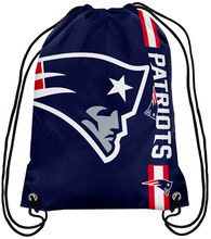 New England Patriots Champion Drawstring Bags Men Backpack Digital Printing Pouch Customize Bags 35*45cm Sports Fan Products(China)