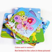 Paper cartoon puzzles animation puzzle manufacturers children early childhood education puzzle toys random