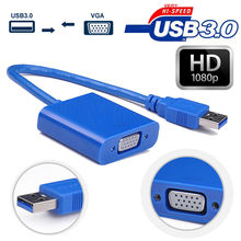 USB 3.0 to VGA Multi-Display Converter Adapter Cable External Video Graphic Card 1920x1080 USB to VGA Adapter for Windows7/8/10(China)