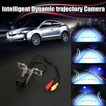 CCD COMS Intelligent Dynamic trajectory Sport License Plate Camera Rear View Backup For Maruti Suzuki Swift DZire 2012 2013(China)