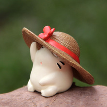 Hot!  IN STOCK My Neighbor Totoro Straw hat Super Kawaii mini Toy Doll anime action figure cool lovely christmas gift