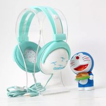 On Sale New arrivel cute cartoon headphones with mic for computer Headset Portable Media Player with perfect sound(China)