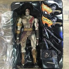 2016 new Square Enix God of War III: Play Arts Kai: Kratos Action Figure Free shipping