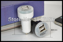 1pcs 2.1A + 1A Dual USB Car Charger for iPad 2 3 4 5 air,for apple iPhone 5S 5C 5 4G 3GS and Cell Phone / PDA / Mp3 / Mp4