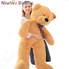 "Giant Teddy Bear with high quality plush toys stuffed animals large size 63""inch lovers gifts birthday gift Free shipping EMS(China)"