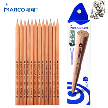 Marco 2017New 2B/HB/2H 12pcs Sketch Drawing Pencils Set Pencil Drawing Students To Write Hexagonal Non-toxic For School Student