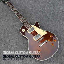 in stock New High Quality Custom shop Bacon color lp Electric Guitar Tiger stripes cover 1959 R9 Free shipping!!!(China)
