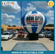 4m inflatable balloon advertising /Hot-Air-Balloon Shaped Cold Air Inflatable Balloon