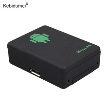 kebidumei Mini A8 No GPS Tracker Locator Real Time Car Kids Pet GSM/GPRS/LBS Tracking Power Adapter With SOS Button(China)
