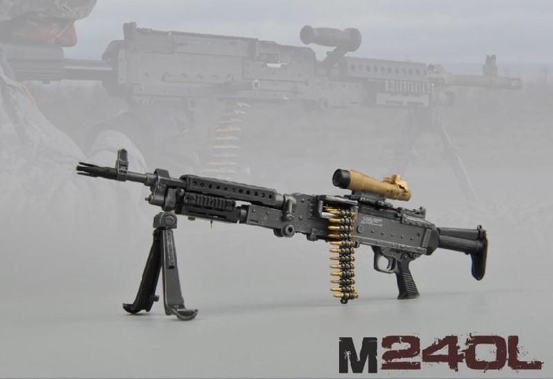 """Échelle 1//6 MK 46 MOD0 MOD1 pour 12/"""" Action Figure Gun Fusil modèle arme soldat"""