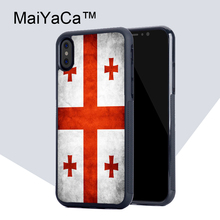 Buy MaiYaCa Georgia Grunge Flag TPU Case Apple iphone X Rubber soft shell iPhone X case Phone protective cover for $4.77 in AliExpress store