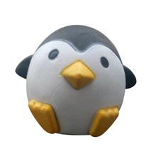 New Arrival Jumbo  Penguin Kawaii Cute Animal Slow Rising Sweet Scented Vent Charms Bread Cake Kid Toy