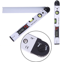 Mayitr 1pc Digital Angle Level Meter Gauge Aluminium Alloy Electronic Protractor Dual Spirit Level Measure Tool