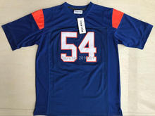 Viva Villa Stitched 54 Thad Castle Blue Mountain State Football Jersey Movie TV Show 7 Alex Moran Jerseys Free Shipping(China)