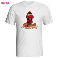 Bison Vega Stand On Your T Shirt Street Fighter Design Arcade Game Creative T-shirt Fashion Novelty Style Tee Cool Unisex Tshirt