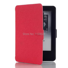 Gligle Wholesale 100pcs Leather Skin Case for Amazon New Kindle 2014 (Kindle Touch 7 Generation) Case Cover Shell(China)